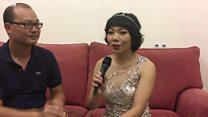 """Trần Thu Hà hát """"Mẹ tôi"""" tặng độc giả BBC"""