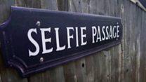 Social media street signs pop up in in Oxford