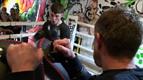 Gym nurturing kickboxing success