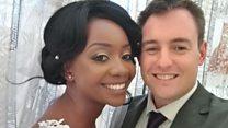 Croc attack bride: 'Every day I wake up happy'