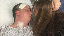 Man rebuilds life after stroke, aged 28