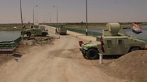 Driving the risky roads of Iraq