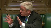 Speaker Bercow hits back at MP critic