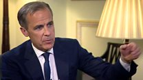 Mark Carney says the UK economy will pick up