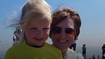 Bid by girl, 4, to conquer Pendle Hill
