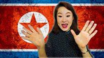 North Korean social media star
