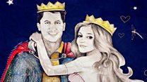 Закохані з Гренфелл-тауер ожили в казці про лицаря і принцесу