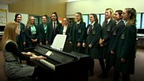 School Choir hopes to hit perfect pitch