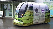 Self-driving pods for the Lake District