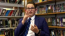 Deaf teenager breaking down barriers