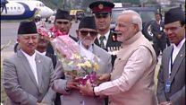 భారత ప్రధాని నేపాల్ పర్యటన
