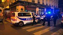 Aftermath of Paris 'terror' attack