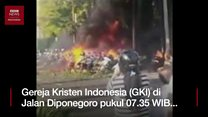 Bom di Surabaya, tiga gereja jadi sasaran