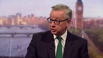 Gove: Brexit customs plan has 'flaws'