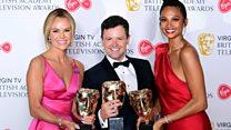 TV Baftas: The best bits in 100 seconds