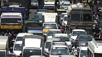 Are these the worst traffic jams in India?