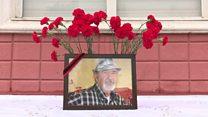 تشییع جنازه بازار صابر، شاعر سرشناس تاجیک