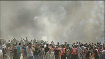 خونینترین روز اعتراض فلسطینیها در هفتههای اخیر