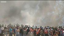 Више десетина убијених у Гази