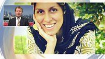 Iran jail woman used to pressure UK - husband
