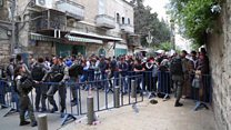 افتتاح سفارت آمریکا در بیت المقدس؛ مرگ دهها فلسطینی معترض
