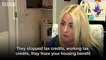 Derry mother has benefits frozen