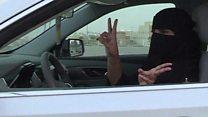 Saudi women prepare to hit the road