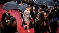 Cannes: Kristen Stewart ditches heels