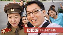 A social media star... in North Korea
