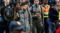 Le FC Barcelone en Afrique du Sud