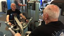 Gym goer, 90, works out three times a week