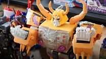 Transformers toy collector eyes record