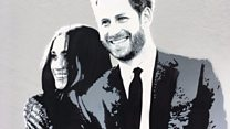 Meghan and Harry's graffiti makeover