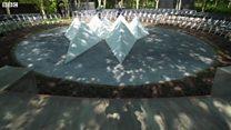 Memorial to British terrorism victims