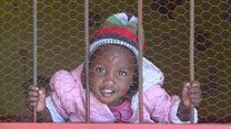 Innocent children growing up behind bars
