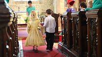 Wiltshire primary school does 'Royal Wedding'