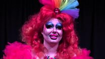 """The drag queen """"messing with gender'"""