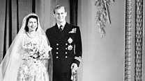 当今女王陛下与菲利普亲王