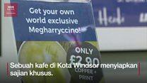Megharryccino, kopi unik di Royal Wedding 2018