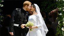 Prince Harry and Meghan: The kiss