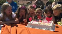 Village of Markle marks the big day
