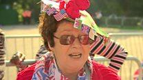 Fans' joy at royal wedding celebrations