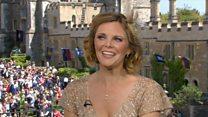Welsh soprano's royal wedding 'stress'