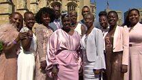 Black culture at the royal wedding