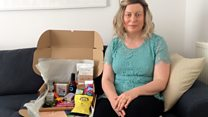 Comfort boxes helping cancer patients