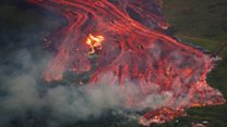 Lava threatens to cut off Hawaii homes