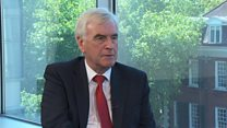 John McDonnell on overthrowing capitalism