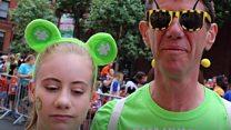 Attack survivor takes part in Manchester run