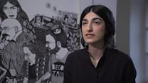 نمایشگاه آثار مشتری هلال، هنرمند افغان-آلمانی