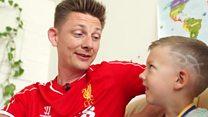 Kiev Liverpool fan opens home